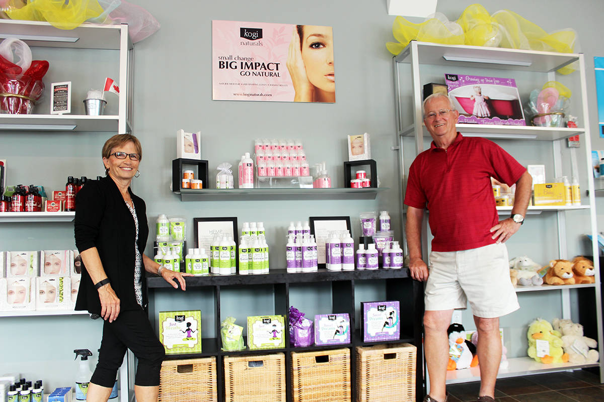 Darlene and Tony Newton's storefront features a wide selection of products.