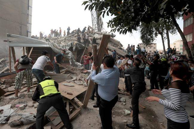 UPDATE: Earthquake kills more than 200 people as buildings collapse in Mexico