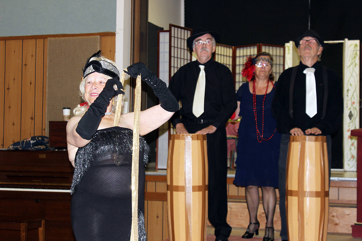 Dawn Adams' murder mystery another legendary show in Chemainus
