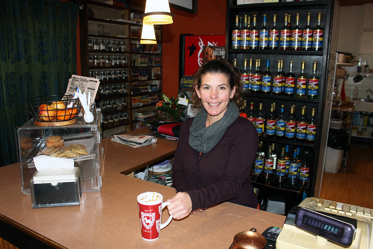 Book Nook in Chemainus the perfect place for Chiasson to set up shop