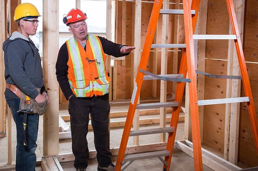 Be ladder safe both at work and home