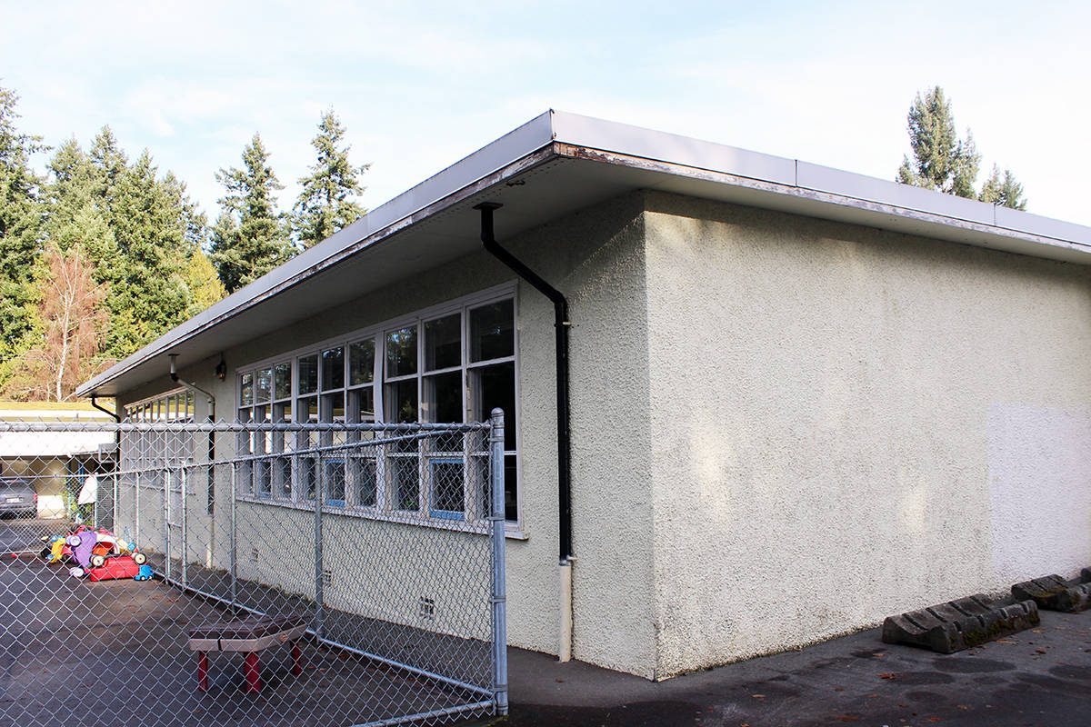 The Saltair Community Centre building.  (Photo by Don Bodger)