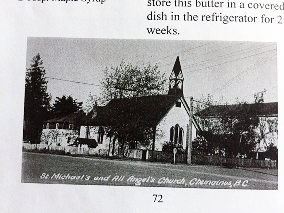 St. Michael's and All Angel's Church in Chemainus has never changed much over the years.  (Photo submitted)