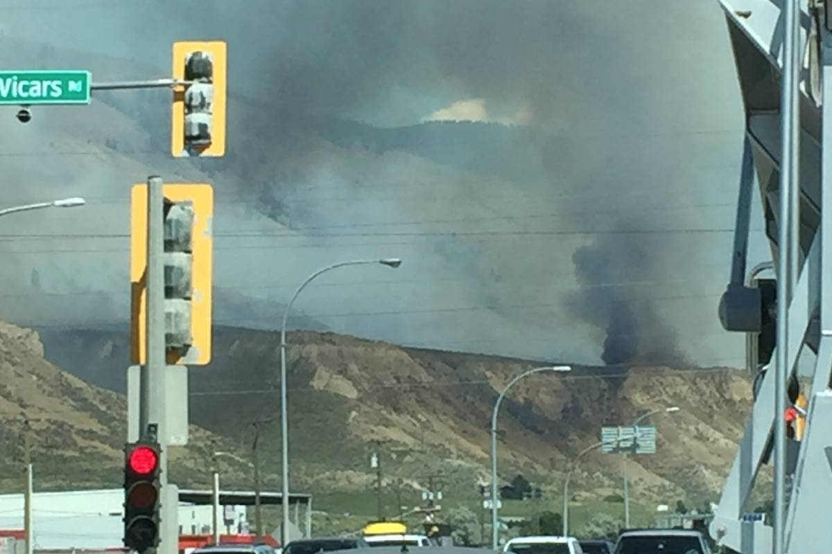Updated: Evacuation order given as Kamloops wildfire grows to 200 hectares