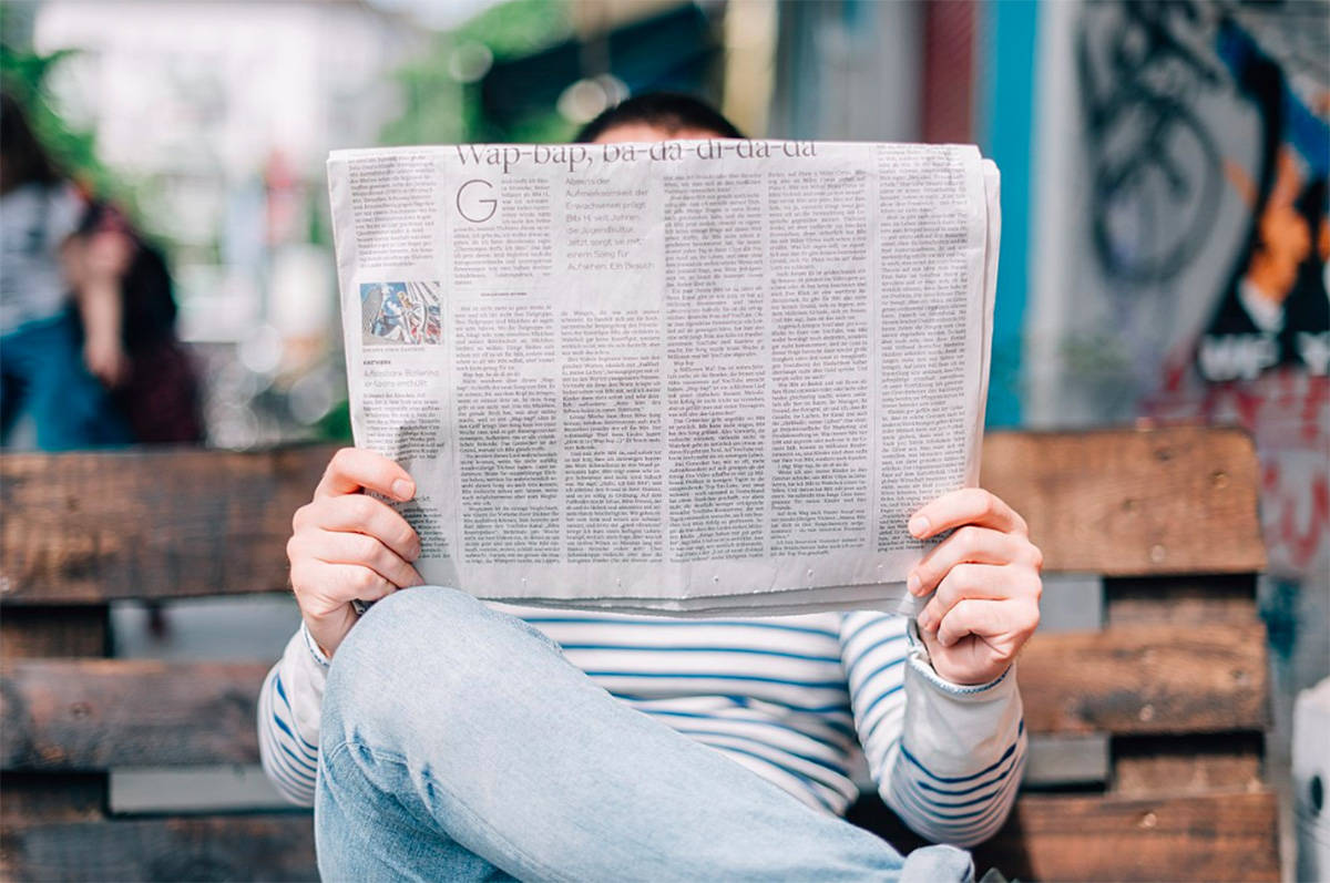 When did you last sit and read a newspaper? National Newspaper Week is Oct. 1-7. (Wiki Commons)