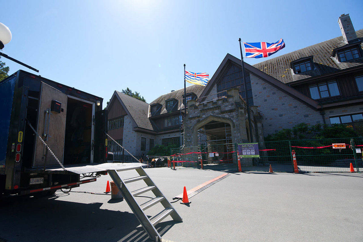 B.C. lieutenant governor's house avoids major damage in late-night fire