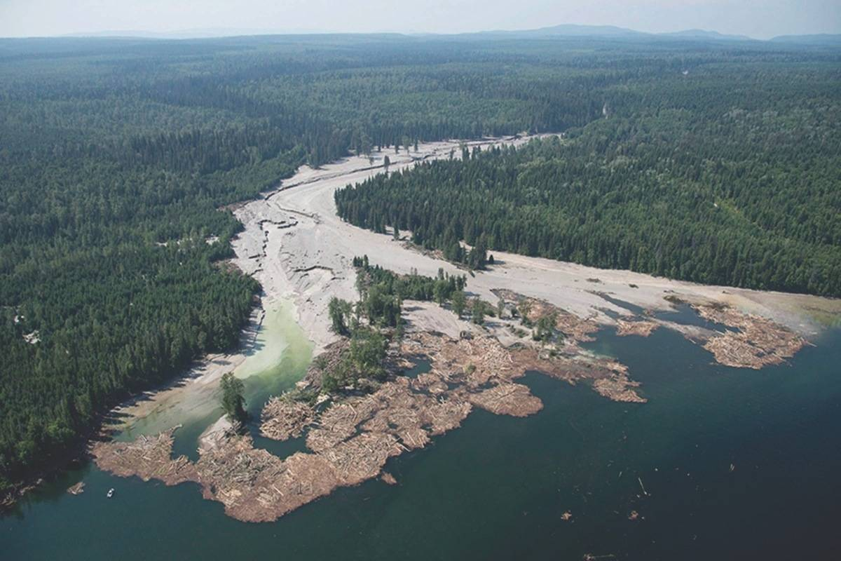 Contents from the Mount Polley Mine tailings pond is pictured going down the Hazeltine Creek into Quesnel Lake near the town of Likely, B.C. on August, 5, 2014. Imperial Metals announced Monday it will suspend operations at Mount Polley at the end of May 2019. THE CANADIAN PRESS/Jonathan Hayward