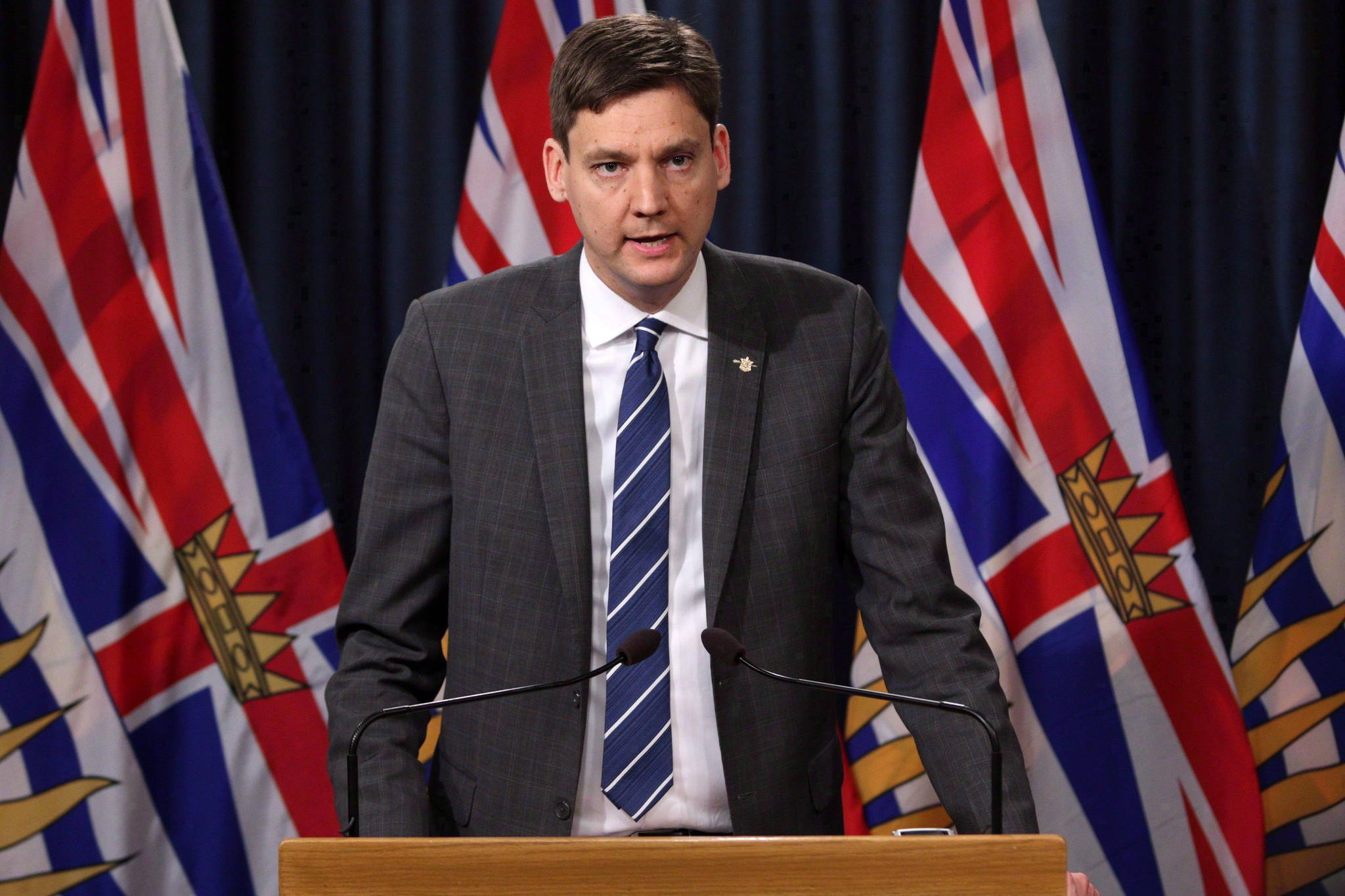 B.C. Attorney General David Eby is pictured in this 2018 file photo. THE CANADIAN PRESS/Chad Hipolito