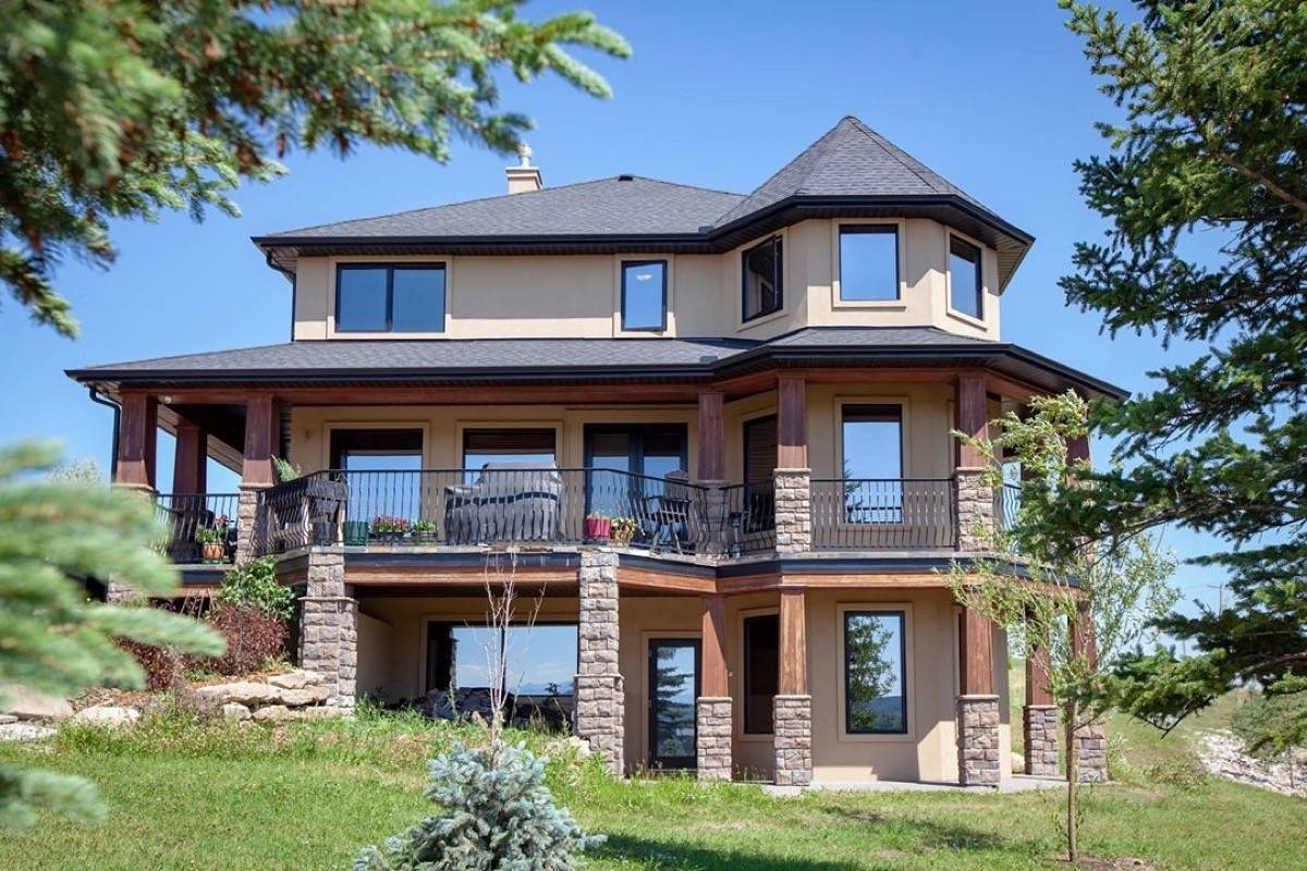Alla Wagner's $1.7-million rural property in Millarville is up for grabs. (Facebook)
