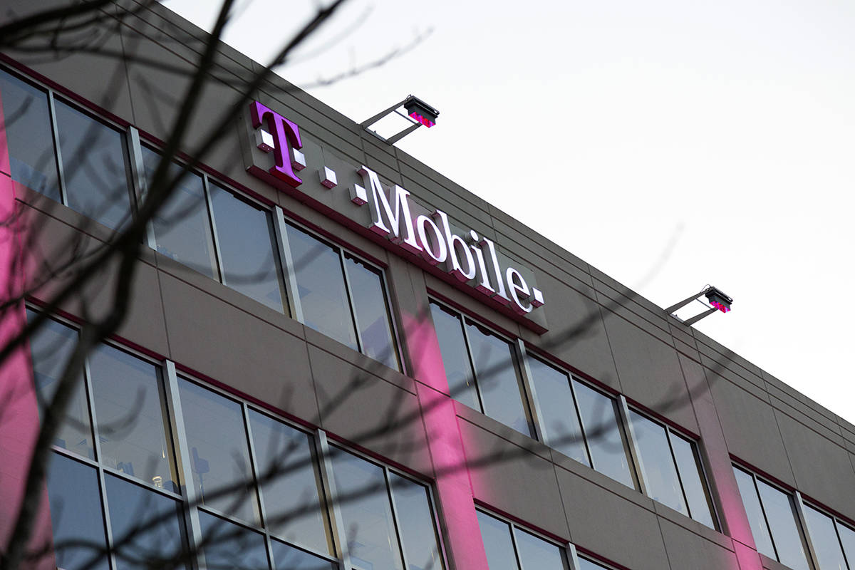 The T-Mobile Bellevue headquarters is the site of the alleged crimes committed by Huawei. (Black Press Media file photo)