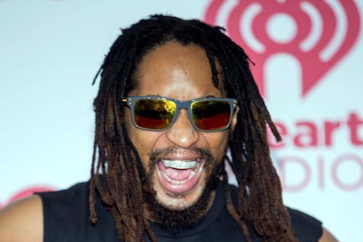 FILE - In this Sept. 20, 2014, file photo, Lil Jon arrives at the iHeart Radio Music Festival at The MGM Grand Garden Arena in Las Vegas. (Photo by Andrew Estey/Invision/AP, File)