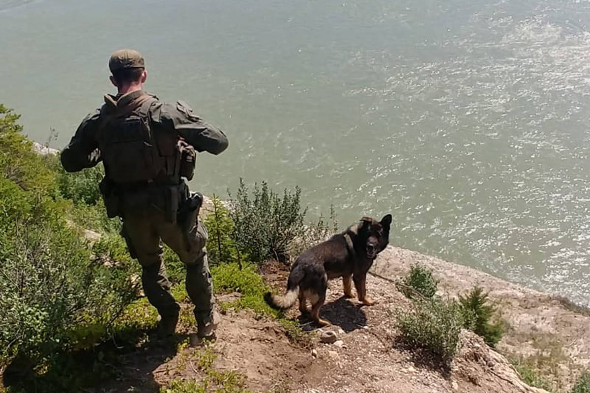 Military personnel and RCMP are searching throughout northern Manitoba for two B.C. murder suspects. (Manitoba RCMP)