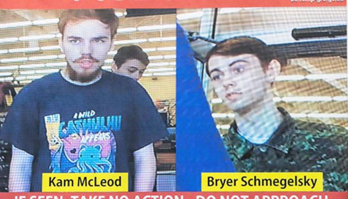 Bodies of Kam McLeod and Bryer Schmegelsky were found Wednesday. (Photo submitted)