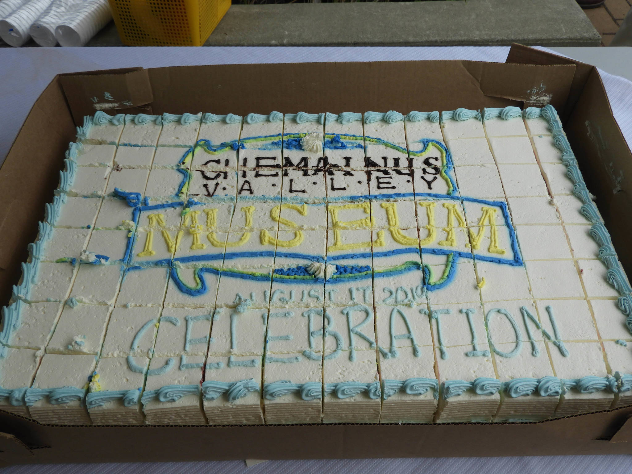 What's a special celebration without cake? (Photo by Kathy Holmes)