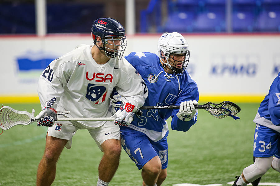 Canada continues to win at world indoor lacrosse championships in B.C.