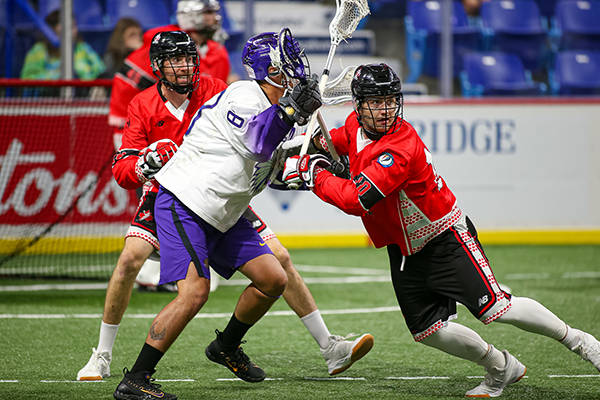 VIDEO: Canada undefeated so far at World Lacrosse Men's Indoor Championship in B.C.
