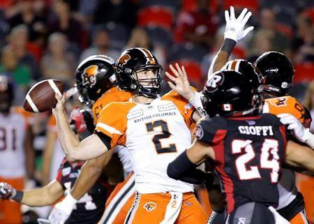 B.C. Lions look to stop Stanback, stymie Montreal Alouettes' run game