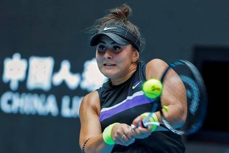 Andreescu wins second-round match at China Open, 16th match in a row
