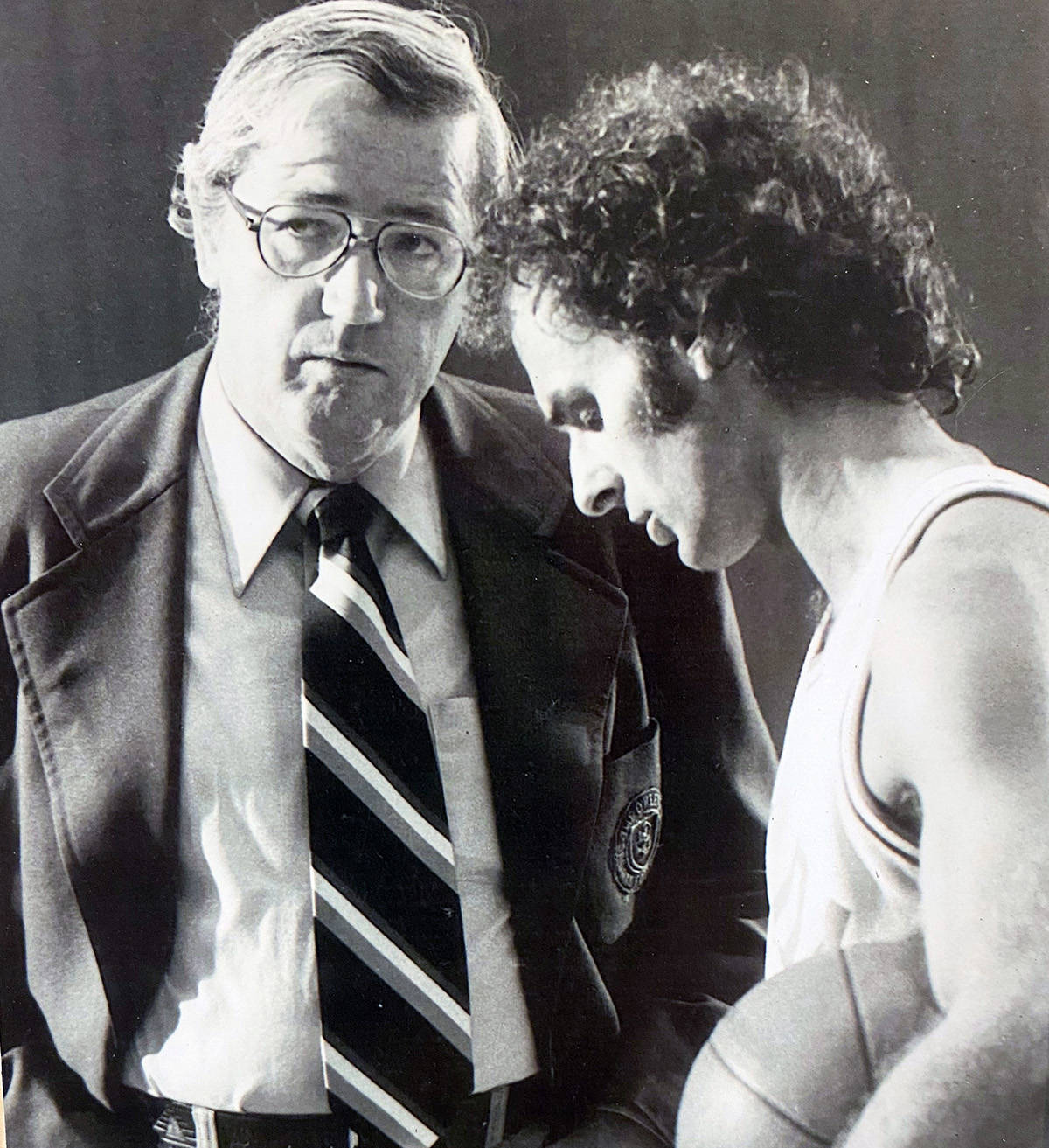 Bill Robinson had a close relationship with Jack Donohue when he was the national team coach. (Photo submitted)
