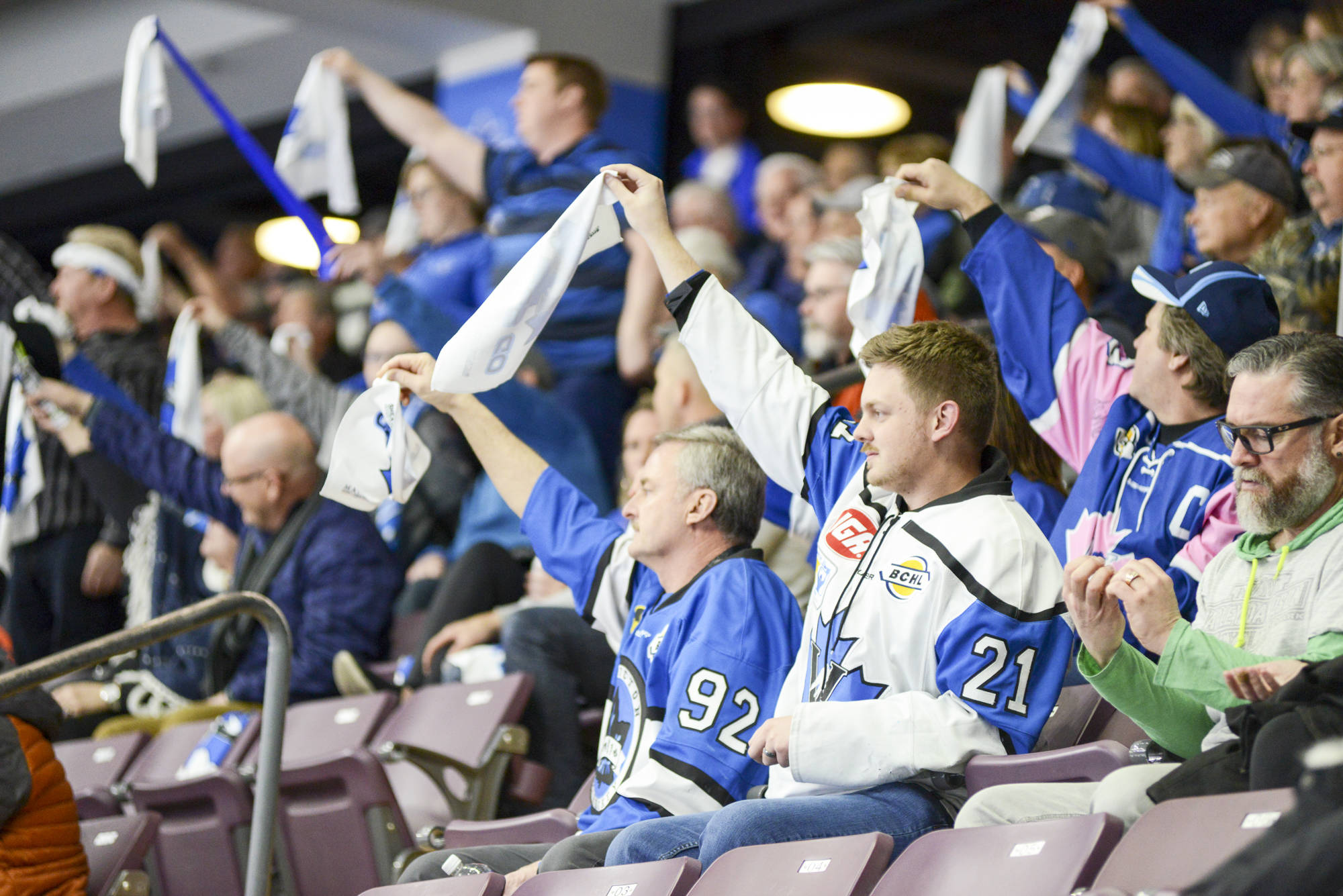 Penticton Vees fans may soon find themselves without any games to watch due to COVID-19. (Mark Brettt - Western News)