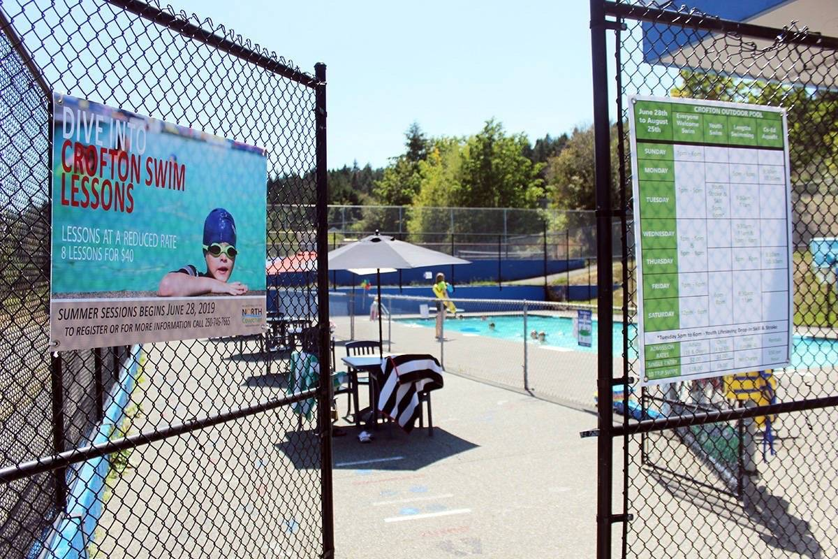 Crofton Outdoor Pool will be closed this summer because no lifeguards will be on duty during the COVID-19 pandemic. (File photo)