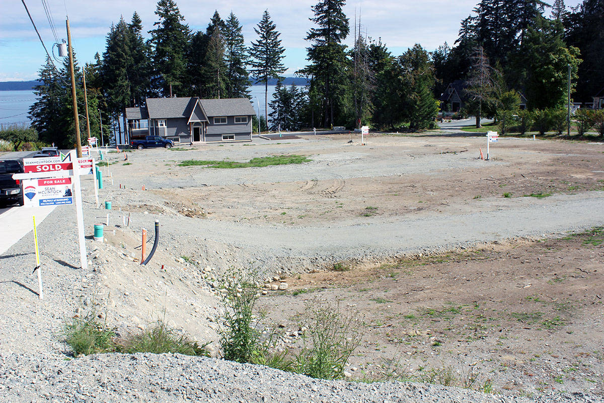 View of the Beachwood Estates site. (Photo by Don Bodger)