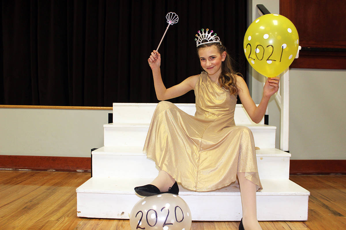 Danaya Brown is about to burst the bubble of 2020 and get on with 2021 by working some magic with a wave of her wand. (Photo by Don Bodger)
