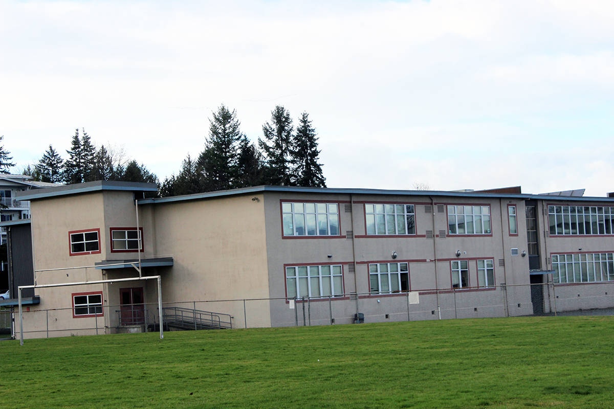 Two additional cases of positive COVID-19 tests have been reported at Chemainus Secondary School. (File photo by Don Bodger)