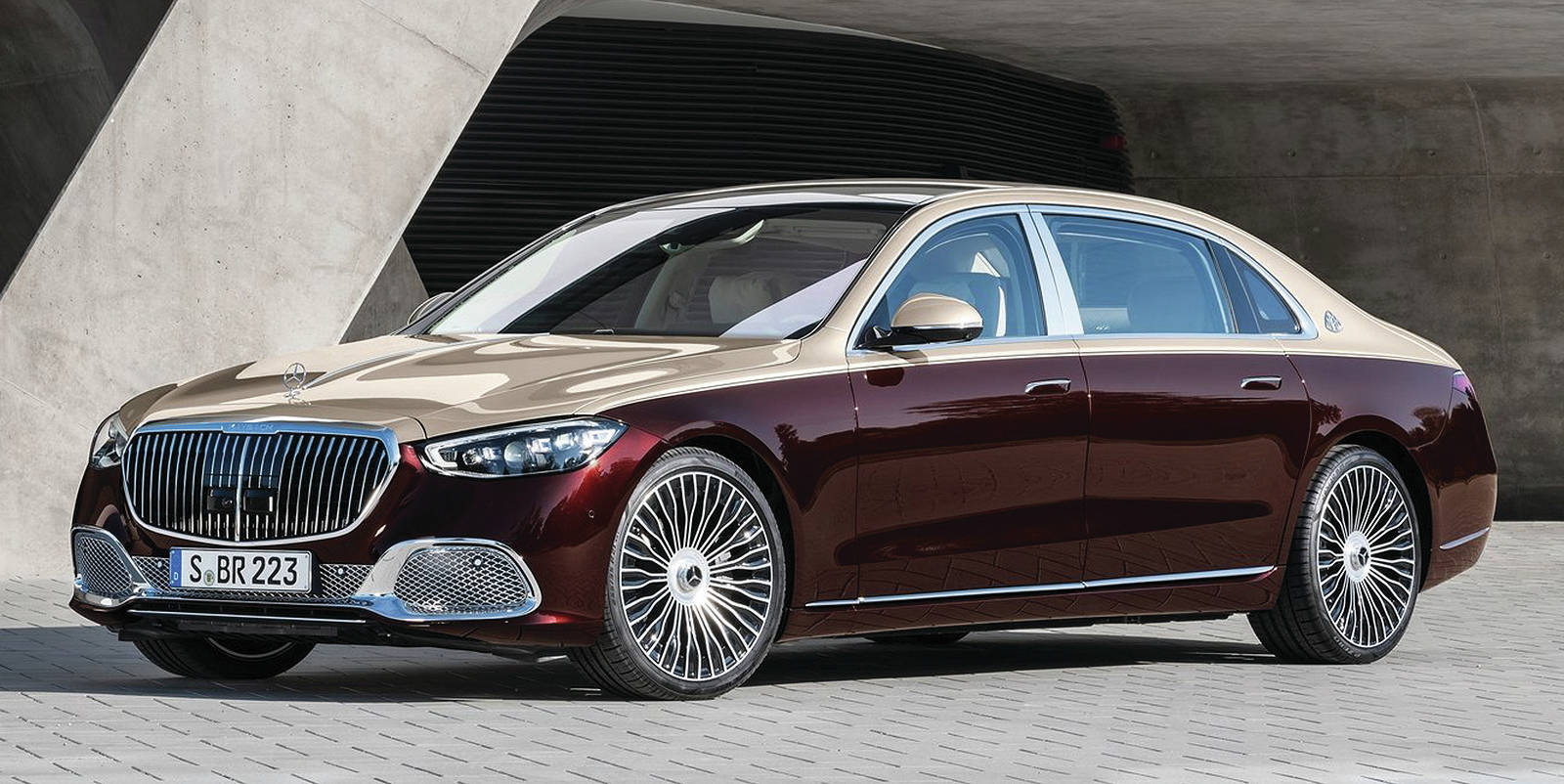 In case the S-Class sedan isn't quite luxurious enough, there's the new Maybach S 580. PHOTO: MAYBACH