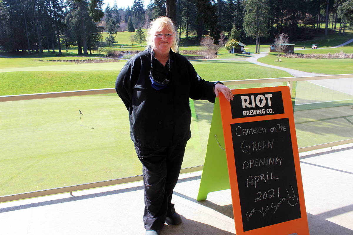 Julie Stevens is looking forward to opening Canteen on the Green at the Mount Brenton Golf Club. (Photo by Don Bodger)