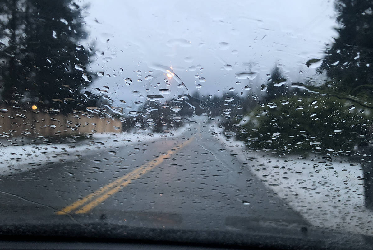 Heavy rains are forecast for most of Vancouver Island but a rain-snow mix could fall at higher elevations. (Black Press file photo)