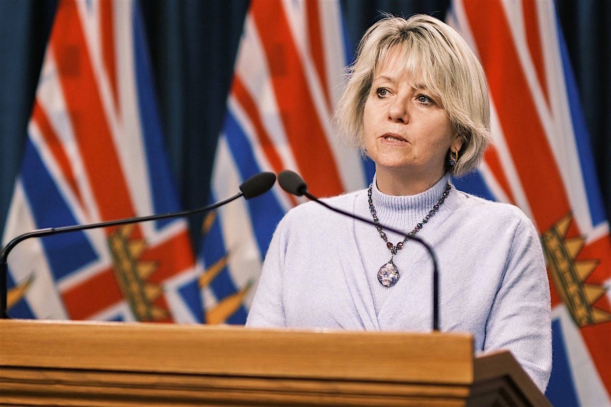 Provincial health officer Dr. Bonnie Henry updates B.C.'s COVID-19 situation at the B.C. legislature, Feb. 1, 2020. (B.C. government)