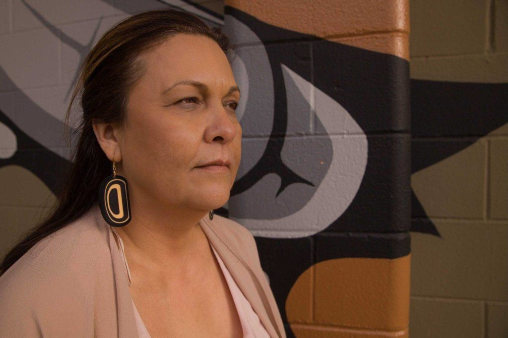 Kackaamin Director Lisa Robinson has been pushing to protect the work done at the Family Development Centre since she first heard about the plan to build a massive cannabis facility across the street. Photo by Emilee Gilpin