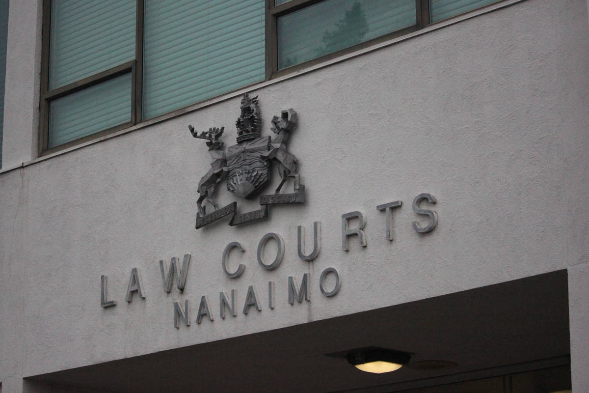 The courthouse in Nanaimo, B.C. (News Bulletin file)