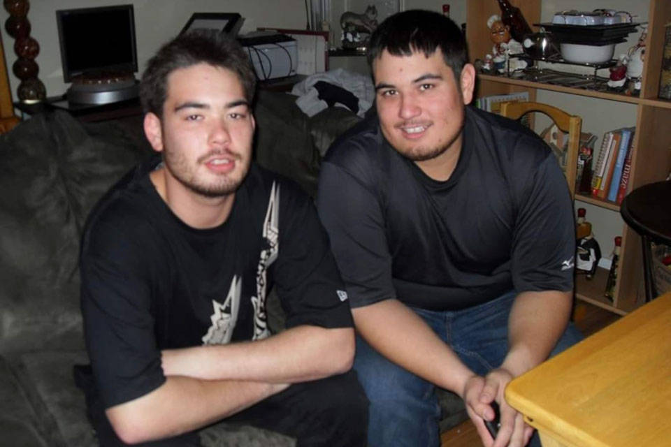 The bodies of Carlo and Erick Fryer were discovered by a local couple walking on a remote forest road in Naramata on May 10. (Submitted)