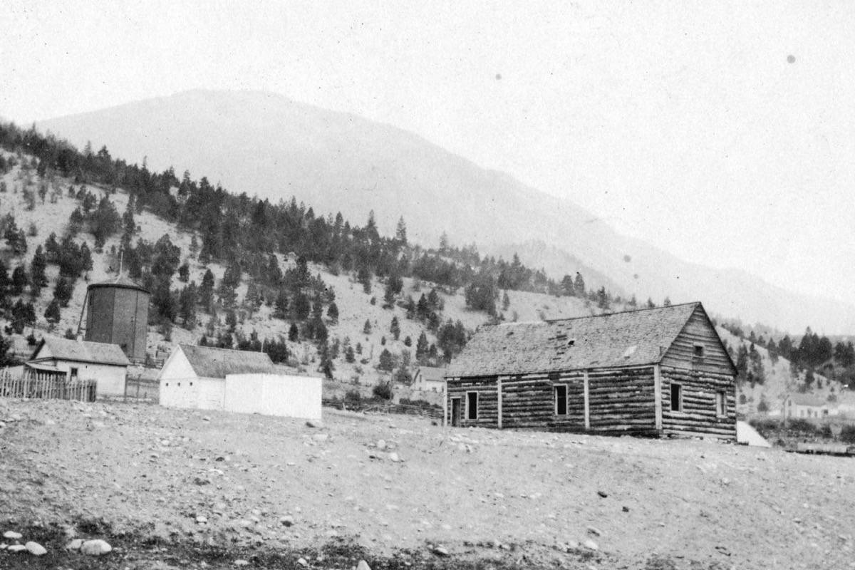 The Lytton courthouse in 1910. (Photo credit: Vancouver City Archives)