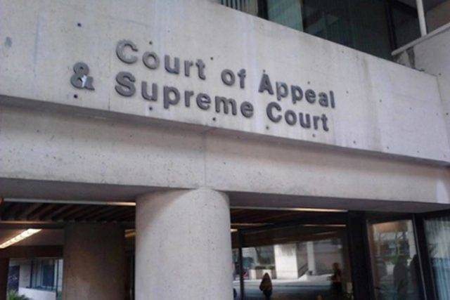 Court of Appeal in Vancouver. (Tom Zytaruk/Black Press file)