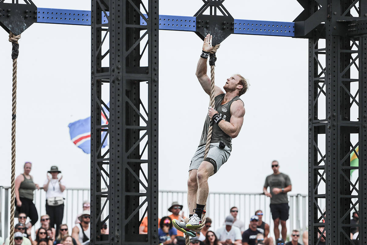 Nanaimo's Patrick Vellner competes at the CrossFit Games in Madison, Wis., over the August long weekend. (Photo courtesy CrossFit LLC/Duke Loren)
