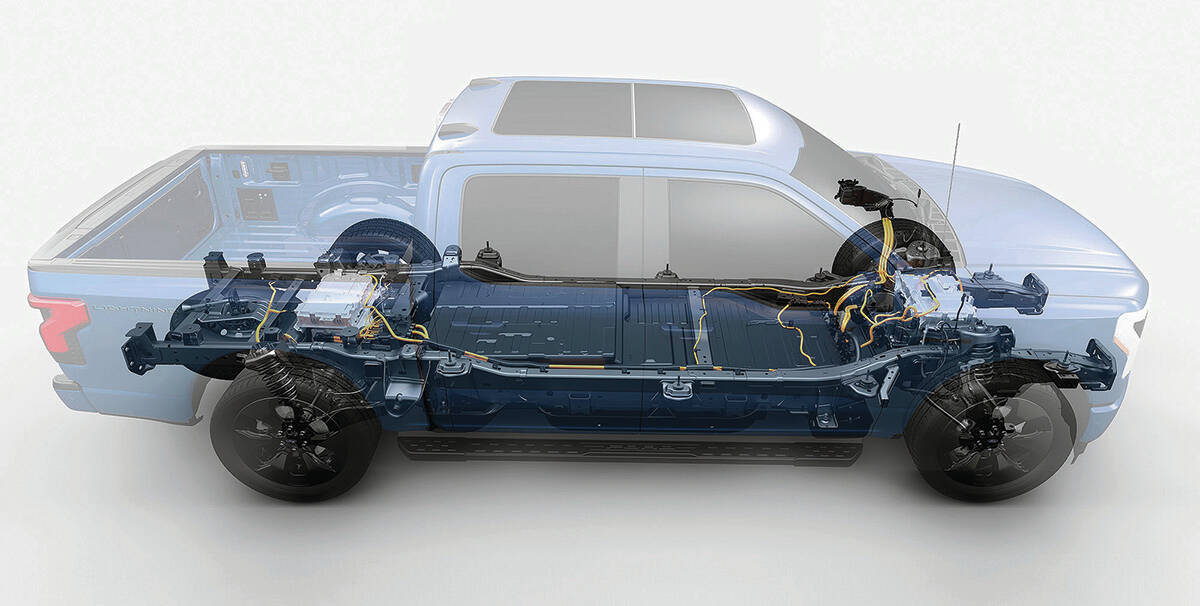 The Ford F-150 Lightning is scheduled to arrive for 2022. Although it's probably the most high-profile Ford EV, numerous others are in the product pipeline. PHOTO: FORD