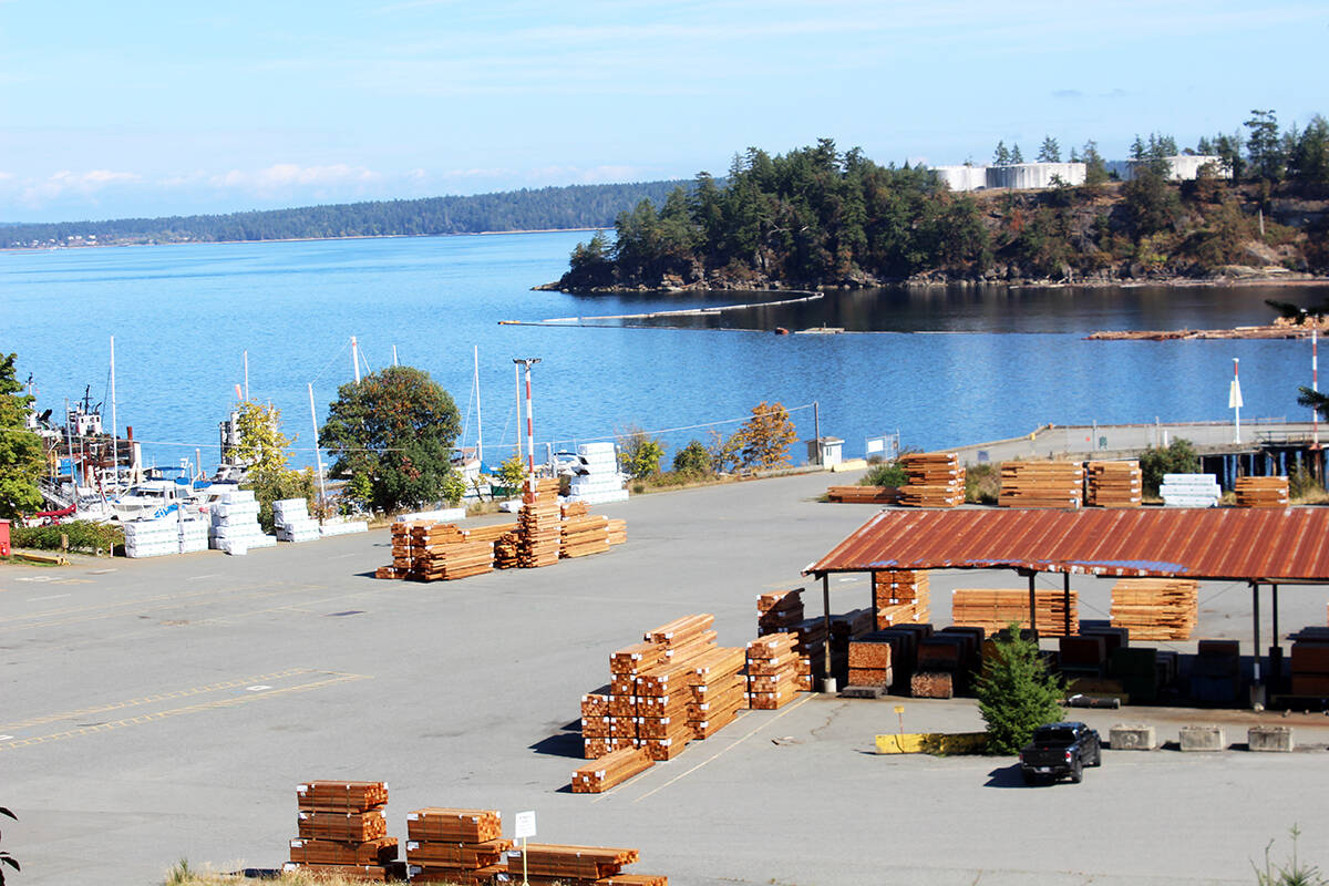 Overlooking Chemainus Bay on a sunny September day. (Photo by Don Bodger)