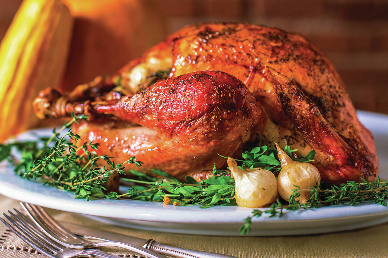 The turkey dinner is a traditional Thanksgiving meal in many households. (Special to Black Press Media)